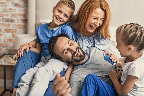 Famille avec 2 enfants