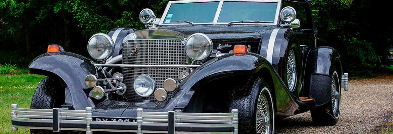 Véhicules voitures de collection estimation vente aux enchères