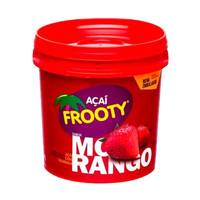 Açaí com morango pote 1kg Frooty POTE