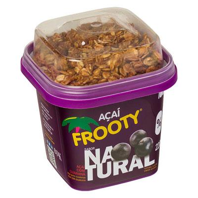 Açaí natural com granola 200g Frooty pote POTE