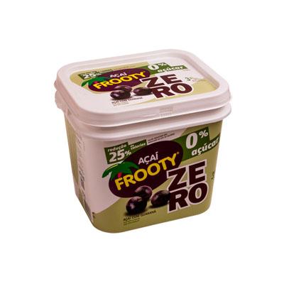 Açaí natural zero açúcar 3,6kg Frooty balde BD