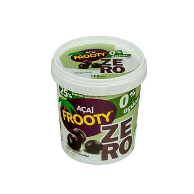 Açaí natural zero açúcar 500g Frooty pote POTE
