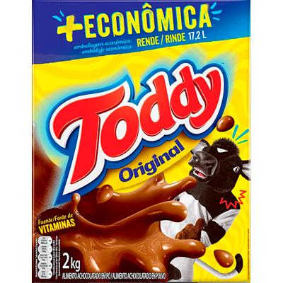 Achocolatado em Pó 2kg Toddy caixa CX