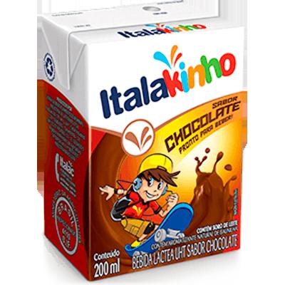 Achocolatado  200ml Italac Tetra Pak UN