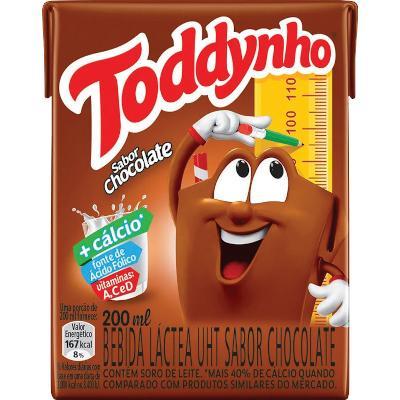 Achocolatado  200ml Toddynho Tetra Pak UN
