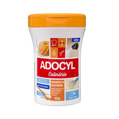 Adoçante em Pó culinário sucralose 150g Adocyl pote POTE