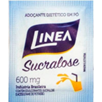 Adoçante em Pó Sucralose unidades de 0,5/0,8g Linea em sachês UN