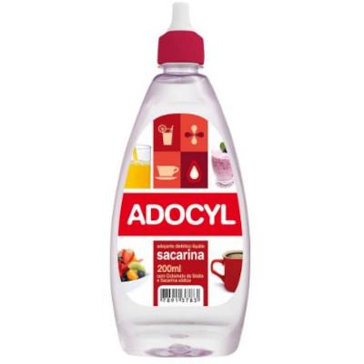 Adoçante Líquido Sacarina 200ml Adocyl frasco UN