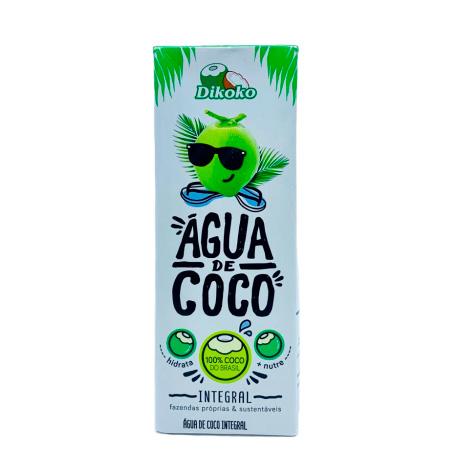 Água de coco  200ml Dikoko Tetra Pak UN