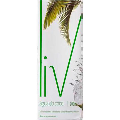Água de coco  200ml LIV Tetra Pak UN