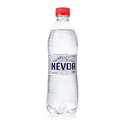 Água mineral natural com gás 500/510ml Névoa pet UN