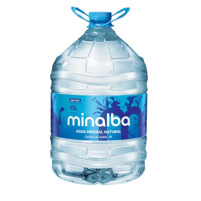 Água mineral natural 10Litros Minalba galão GL