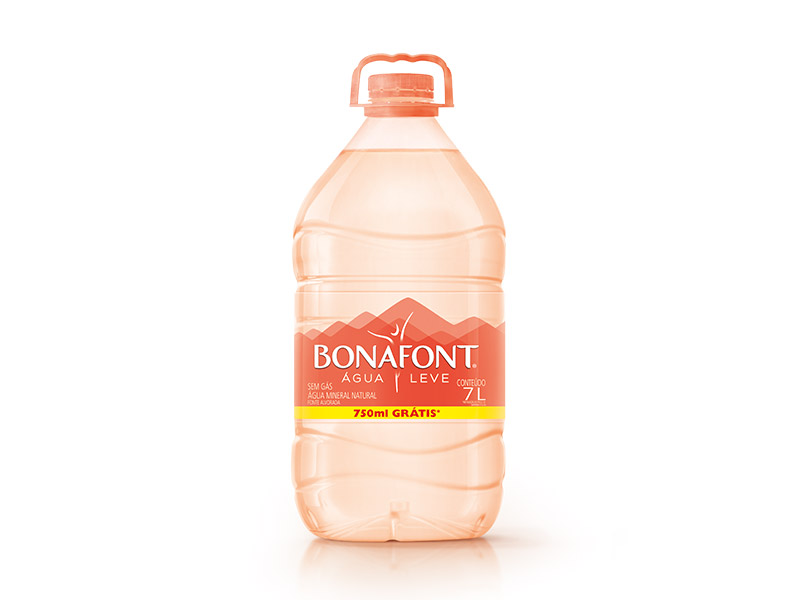 Água mineral natural 7Litros Bonafont galão GL