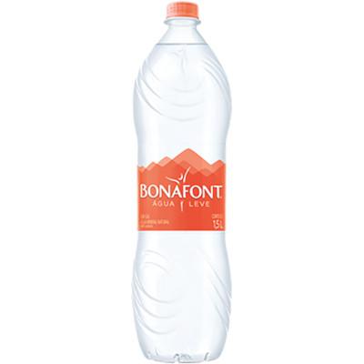 Água mineral natural 1,5Litros Bonafont pet UN