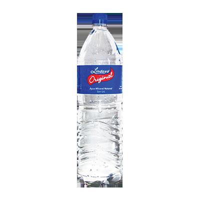 Água mineral natural pet 1,5Litros Lindoya Original UN