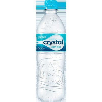 Água mineral natural 500/510ml Crystal pet UN