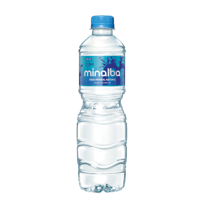 Água mineral natural 500/510ml Minalba pet UN