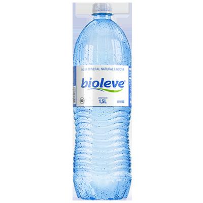 Água mineral natural 1,5Litros Bioleve pet azul UN