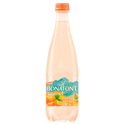 Água saborizada tangerina com gás pet 1,270Litros Bonafont UN