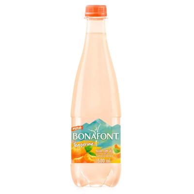 Água saborizada tangerina com gás pet 500ml Bonafont UN