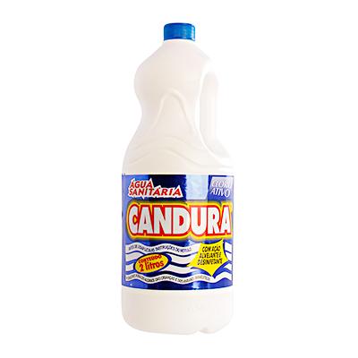Água sanitária  2Litros Candura frasco FR
