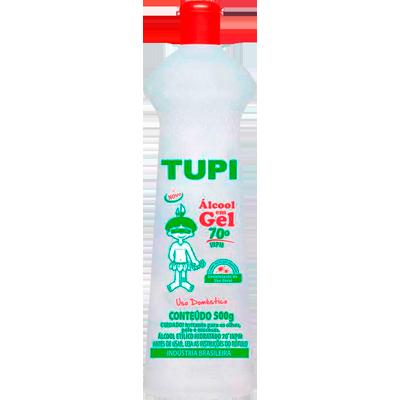 Álcool em Gel 70° 500g Tupi frasco FR