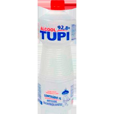 Álcool líquido 92,8° 1Litro Tupi frasco FR