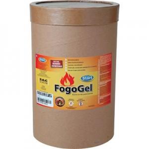 Álcool para acendimento em Gel 80° 10kg Fogogel barrica BARR