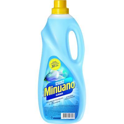 Amaciante de roupas clássico carinho 2Litros Minuano frasco FR