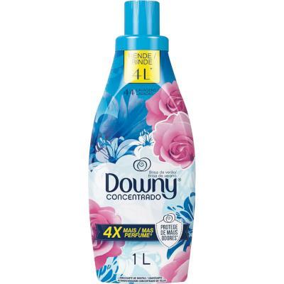 Amaciante de roupas concentrado brisa de verão 1Litro Downy frasco FR