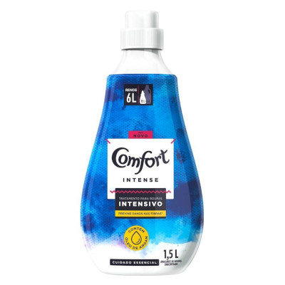 Amaciante de roupas concentrado intense frasco 1,5Litros Comfort FR