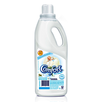 Amaciante de roupas puro cuidado 2Litros Comfort frasco FR