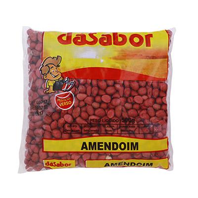 Amendoim crocante 500g DáSabor pacote PCT