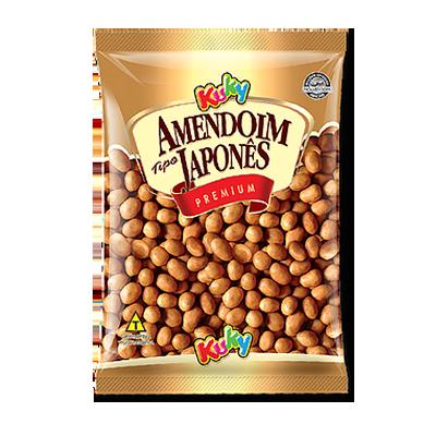 Amendoim japonês pacote 500g Kuky PCT