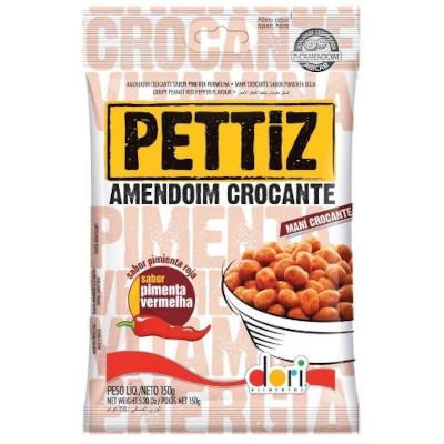 Amendoim sabor pimenta vermelha 150g Dori/Pettiz pacote PCT
