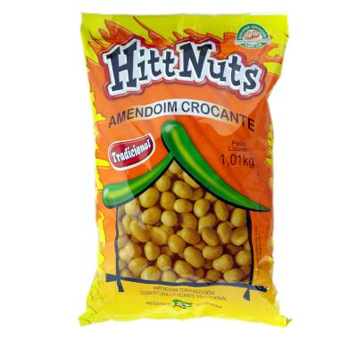 Amendoim tradicional pacote 1kg HittNuts UN