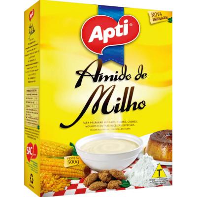 Amido de Milho  500g Apti pacote PCT