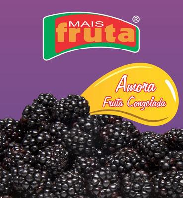 Amora congelado 100g Mais Fruta UN
