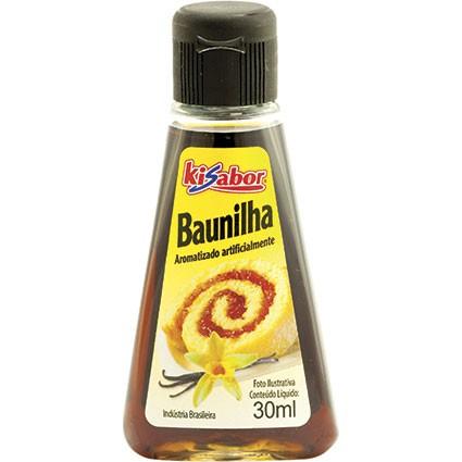 Aroma Artificial de Baunilha 30ml KiSabor  UN