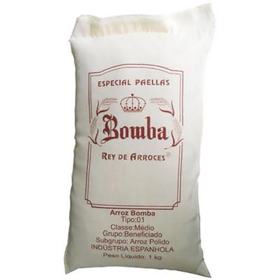 Arroz espanhol paella 1kg Bomba pacote PCT