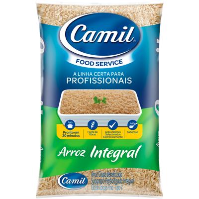 Arroz integral tipo 1 1kg Camil pacote PCT