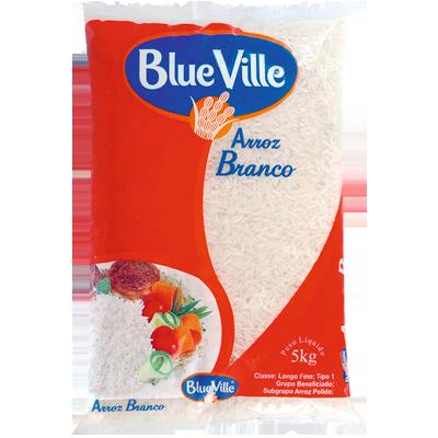 Arroz tipo 1 5kg Blue Ville pacote PCT