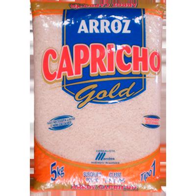 Arroz tipo 1 5kg Capricho Gold pacote PCT