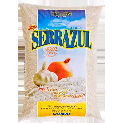 Arroz tipo 1 5kg Serra Azul pacote PCT