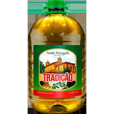 Azeite de Oliva Extra Virgem 5,01Litros Tradição galão GL