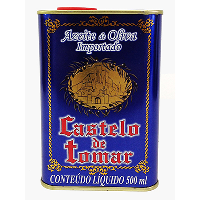 Azeite de Oliva extra virgem lata 500ml Castelo de Tomar LT