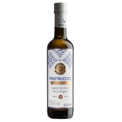 Azeite de Oliva extra virgem não filtrado 500ml Patricio  vidro UN