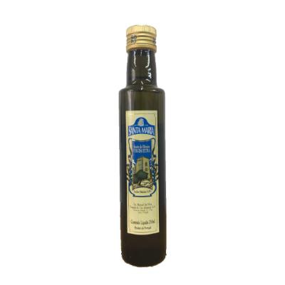 Azeite de Oliva extra virgem 250ml Santa Maria vidro UN