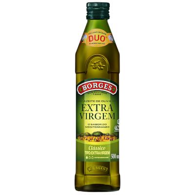 Azeite de Oliva extra virgem 500ml Borges vidro UN