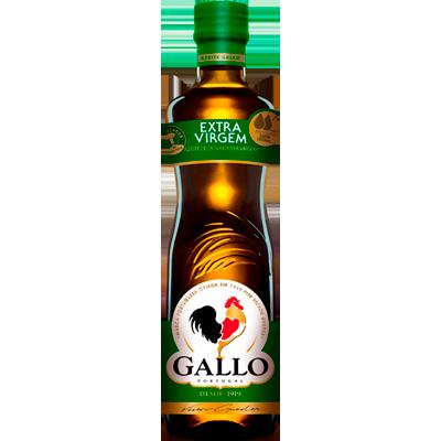Azeite de Oliva extra virgem 500ml Gallo vidro UN